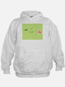 Minimalist Johto Region Starter Grass v Sweatshirt