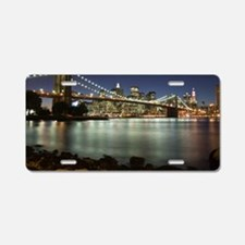 Brooklyn Bridge Aluminum License Plate