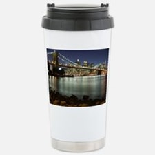 Brooklyn Bridge Stainless Steel Travel Mug