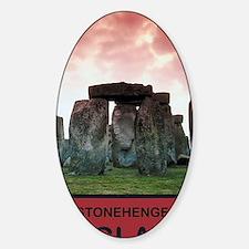 StonehengeEngland1 Sticker (Oval)