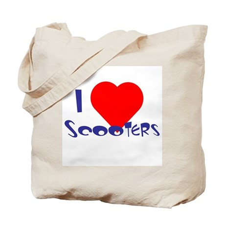 I Heart Scooters Tote Bag