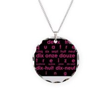 frenchnumbersNEW Necklace