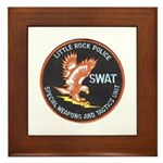 Little Rock SWAT Framed Tile