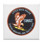 Little Rock SWAT Tile Coaster