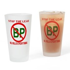 no_BP_transparent_red Drinking Glass