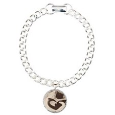 Love in Black and White  Bracelet