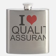 I Love Quality Assurance Flask