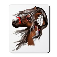 Paint Horse and Feathers Trans3000 Mousepad