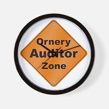 Ornery_Auditor_10x10_RK2010 Wall Clock