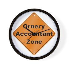 Ornery_Accountant_10x10_RK2010 Wall Clock