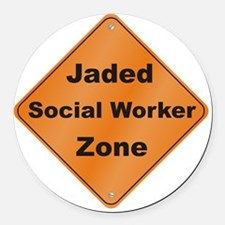 Jaded_Social_10x10_RK2010 Round Car Magnet