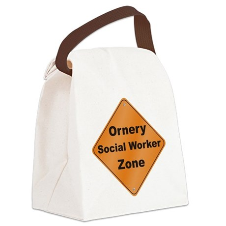 Ornery_Social_10x10_RK2010 Canvas Lunch Bag
