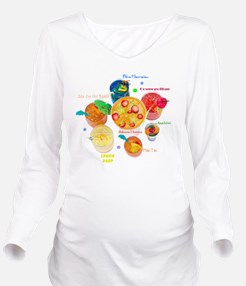 COCTAILS Long Sleeve Maternity T-Shirt