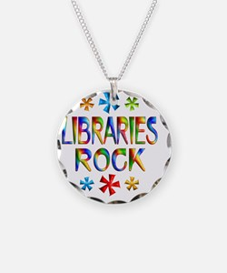 LIBRARIES Necklace