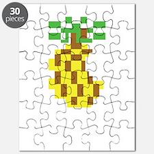 PIneapple Logo White Puzzle