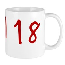 red-18-april Small Mugs