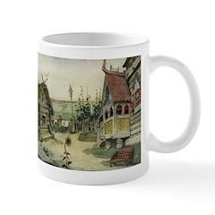 Russian Village Mug