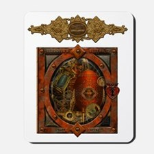 Clockwork Heart no bg Mousepad