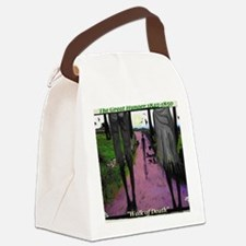 WALK OF DEATH tee shirt Canvas Lunch Bag