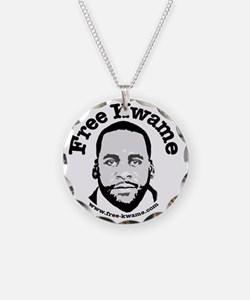 Free Kwame - Round Necklace
