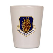 97th Air Mobility Wing Shot Glass