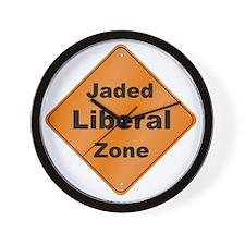 Jaded_Liberal_10x10_RK2010 Wall Clock