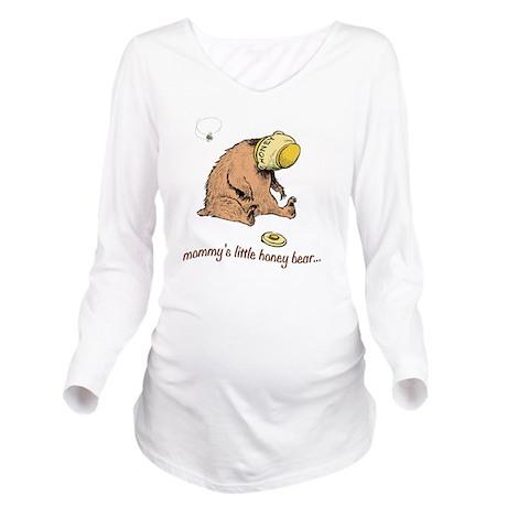 mommys little honey Long Sleeve Maternity T-Shirt