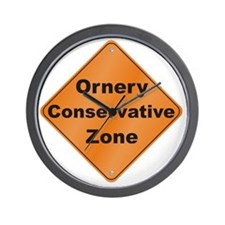 Ornery_Conservative_10x10_RK2010 Wall Clock