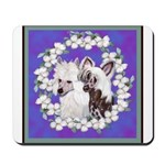 Chinese Crested Pair Mousepad
