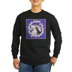 Chinese Crested Pair Long Sleeve Dark T-Shirt