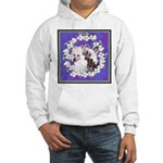 Chinese Crested Pair Hooded Sweatshirt