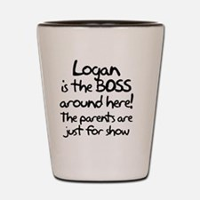 boss_logan Shot Glass