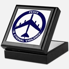 Peace Is Eternal Vigilance - B-52G Bl Keepsake Box