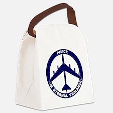 Peace Is Eternal Vigilance - B-52 Canvas Lunch Bag