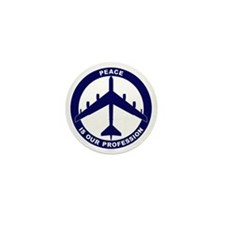 Peace Is Our Profession - B-52G Blue Mini Button