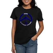 Peace Is Eternal Vigilance -  Tee