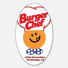 Burger Chef Northridge Lite Decal