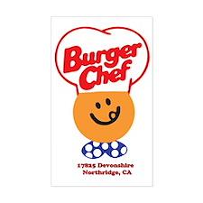 Burger Chef Northridge Lite Decal