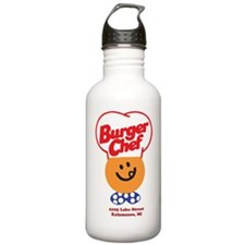 Burger Chef Kalamazoo  Water Bottle