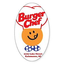 Burger Chef Kalamazoo Lite Decal