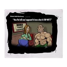 Choke Hold Comics:  Planned Parentho Throw Blanket