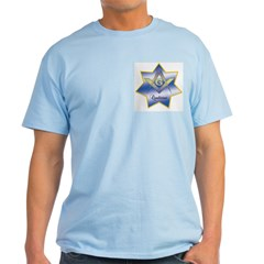 Masonic Quadrivium 7 point star T-Shirt