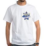 Masonic Quadrivium 7 point star White T-Shirt