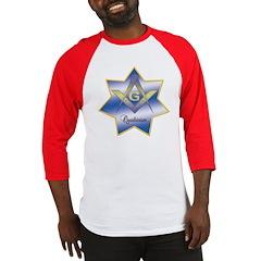 Masonic Quadrivium 7 point star Baseball Jersey