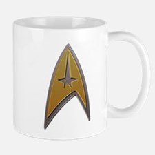 Star Trek metallic insignia Mugs