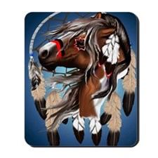 Paint Horse DreamCathcer PosterP Mousepad