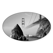 4-GOLDEN GATE BRIDGE Decal