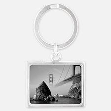 2-GOLDEN GATE BRIDGE Landscape Keychain