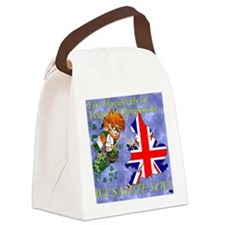 SALUTE Canvas Lunch Bag