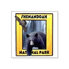 "shenandoah2 Square Sticker 3"" x 3"""